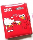Binder Elmo Hello Kitty