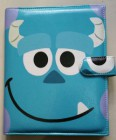 Binder monster blue