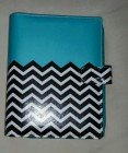 Binder Zigzag blue